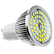 6W 500-550lm GU10 Focos LED MR16 48 Cuentas LED Blanco Cálido Blanco Fresco Blanco Natural 100-240V 85-265V