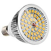 1pc 6 W 500-600 lm E14 / E26 / E27 LED-spotpærer 48 LED perler SMD 2835 Varm hvit / Kjølig hvit / Naturlig hvit 100-240 V