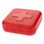 Caja de Viaje para Pastillas Portable para Accesorios de Emergencia para Viaje