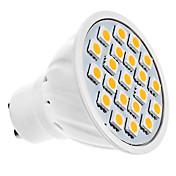 1.5W GU10 LED 스팟 조명 MR16 20 LED SMD 5050 따뜻한 화이트 3000lm 3000KK AC 220-240V