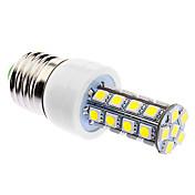 6W E26/E27 LED-kornpærer 30 SMD 5050 500 lm Naturlig hvit Dimbar AC 85-265 V