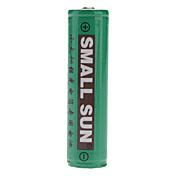 SmallSun 18650 배터리 2400 MAH 용 캠핑/등산/동굴탐험