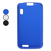 caja dura de la contraportada de la malla para el moto mb860 (negro, blanco, azul) casos / cubiertas para sony