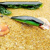 pcs Señuelos duros Pececillo Verde Oro Rojo g/Onza mm pulgada,Plástico duro Pesca de Mar Pesca de agua dulce