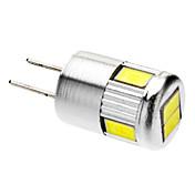 G4 Focos LED 6 SMD 5730 220-250 lm Blanco Fresco 6000 K AC 12 V