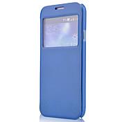 Minimalista color sólido de la PU de cuero de caso completo del cuerpo para Samsung I9150/I9152 (Vouni-21)