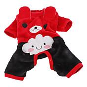 Perro Disfraces Pantalones Ropa para Perro Rojo Rosa Disfraz Para mascotas Cosplay Halloween
