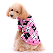 Hund Gensere Hundeklær Søtt Hold Varm Pledd / Tern Rosa Kostume For kjæledyr
