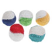 Juguetes de dentición para gato Juguetes de dentición para perro Esponjas y Loofahs Pelota de tenis Textil Para Perro Cachorro