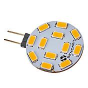 SENCART 5W 420-500 lm G4 LED-spotpærer 12 leds SMD 5730 Varm hvit Kjølig hvit AC 12V DC 12 V
