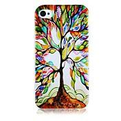 iPhone4/4S를위한 복원 본 실리콘 소프트 케이스의 나무