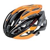 FJQXZ 여성용 남성용 남여 공용 자전거 헬멧 26 통풍구 싸이클링 도로 사이클링 사이클링 원 사이즈 PC EPS
