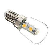 1W E14 Bombillas LED de Mazorca T 7 leds SMD 5050 Decorativa Blanco Cálido 60-70lm 2700-3200K AC 100-240V