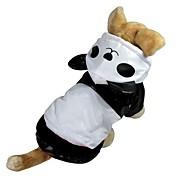 Gato Perro Disfraces Saco y Capucha Impermeable Ropa para Perro Bonito Cosplay A Prueba de Agua Animal Blanco Disfraz Para mascotas