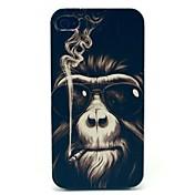 Patrón del mono de duro caso para iPhone 4/4S