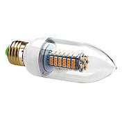 7W E26/E27 Luces LED en Vela C35 120 SMD 3528 630 lm Blanco Cálido / Blanco Fresco AC 100-240 V