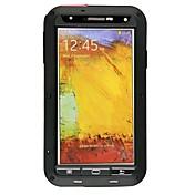Etui Til Samsung Galaxy Samsung Galaxy Note Støvtett Støtsikker Vanntett Heldekkende etui Rustning Metall til Note 3