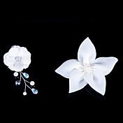 Mujer Niña de flor Satén Celada-Boda Ocasión especial Flores