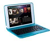 Etui Til iPad Mini 3/2/1 med stativ med tastatur Flipp Heldekkende etui Helfarge Hard PC til