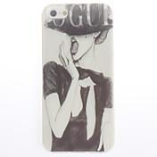 caso suave del diseño de moda para el iphone 4 / 4s