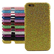 Glitter Powder Design Hard Cover for iPhone 6 Plus (Assorted Color)