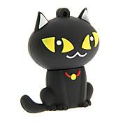 dibujos animados 32gb zp55 gato negro usb 2.0 flash drive