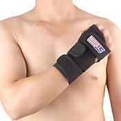 Refuerzo para Mano y Muñeca Soporte Deportes Protector Transpirable Fitness Carrera Negro