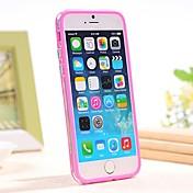 sílice gel parachoques marco cubre para el iphone 6 casos de parachoques de 4,7 pulgadas (colores surtidos)