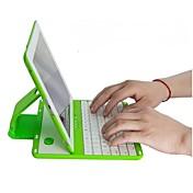360 gire desmontable caso teclado inalámbrico bluetooth para el ipad 4/3/2