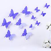 Animales Romance 3D Pegatinas de pared Calcomanías 3D para Pared Calcomanías Decorativas de Pared Calcomanías Para la Refrigeradora,Vinilo
