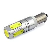 luces blancas BA9S 5xcob 7.5W 280lm chip de CC 12V para el uso de automóviles coche