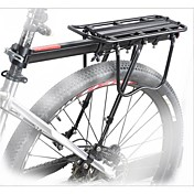 Bike Cargo Rack Maks Lasting 50 kg Justerbare Aluminiumslegering Fjellsykkel / Vei Sykkel - Svart