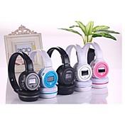 Sobre oreja Sin Cable Auriculares El plastico Teléfono Móvil Auricular Con control de volumen / Con Micrófono Auriculares
