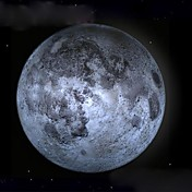 lámpara de pared luna luz luna curativa llevado con mando a distancia