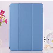 Funda Para iPad Air 2 con Soporte Origami Funda de Cuerpo Entero Un Color Cuero de PU para iPad Air 2