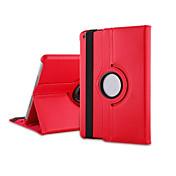Etui Til iPad Air med stativ 360° rotasjon Heldekkende etui Helfarge PU Leather til iPad Air