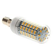 4.5W 450-500 lm E14 Bombillas LED de Mazorca T 69 leds SMD 5730 Blanco Cálido AC 220-240V