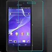 (0.3mm delgada, dureza 9h) bordes redondeados 2.5D templado film protector de pantalla de cristal para Sony Xperia m2