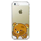 Etui Til Apple iPhone X iPhone 8 Plus Etui iPhone 5 iPhone 6 iPhone 6 Plus iPhone 7 Plus iPhone 7 Gjennomsiktig Mønster Bakdeksel