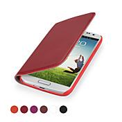 funda protectora cubierta de cuero genuino ggmm® kiss-s4 para Samsung Galaxy S4 (colores surtidos)