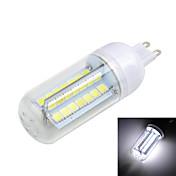 g9 llevó luces de maíz t 56 smd 5050 800-1000lm blanco cálido blanco frío 3000 / 6500k ac 220-240v