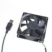 8cm chasis del servidor silencioso ventilador / equipo de refrigeración del ventilador 5v