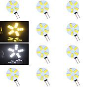 G4 Luces LED de Doble Pin 15 leds SMD 5730 Blanco Cálido Blanco Fresco 500-800lm 2700-3500/6000-6500K AC 12V
