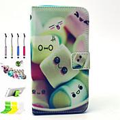 Para Soporte de Coche / Cartera / con Soporte / Flip / Diseños Funda Cuerpo Entero Funda Dibujos Dura Cuero Sintético Samsung Grand Prime