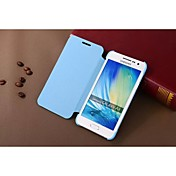제품 삼성 갤럭시 케이스 케이스 커버 플립 풀 바디 케이스 한 색상 인조 가죽 용 Samsung A3