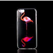 flamencos la cubierta del patrón para el iphone 6 más para el iphone 6 más