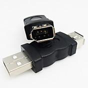 usb 2.0 a firewire / ieee-1394 adaptador de alta calidad y duradero