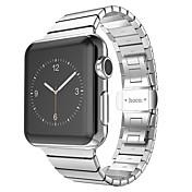 hoco® grand serie 2 pekere rustfritt stål metall myk watchband for iwatch 42mm
