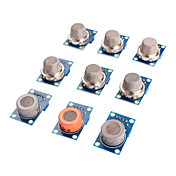 gass sensor MQ-2 MQ-3 MQ-fire MQ-5 MQ-6 MQ-7 MQ-8 MQ-9 MQ-135 sensor kit modul for Arduino