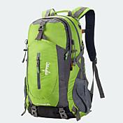 40 L 백패킹 배낭 랩탑 가방 자전거 배낭 여행 더플 백팩 커버 캠핑 & 하이킹 등산 여행 방수 비 방지 착용 가능한 랩탑 배낭 다기능 나일론 메쉬 테릴렌 OSEAGLE